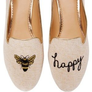 🐜RARE C.Wonder Bee Happy Smoking Flats